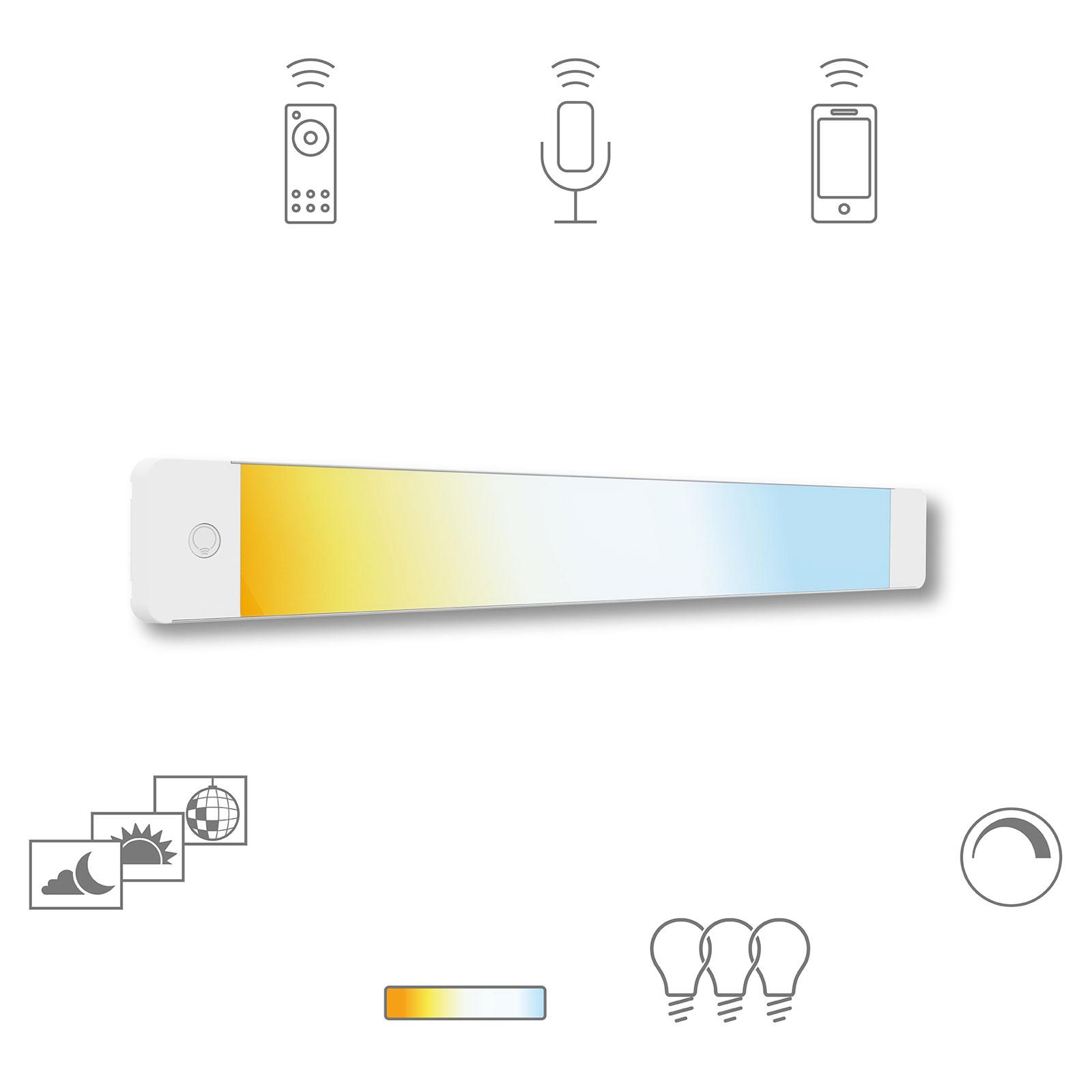 Müller Licht tint LED-underskabslampe Alba, 50cm