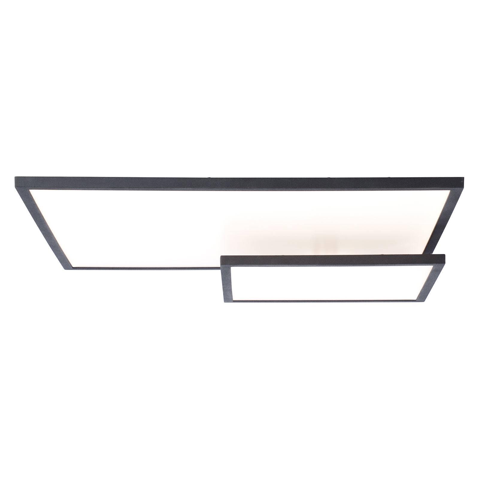 Lampa sufitowa LED Bility prostokątna czarna ramka