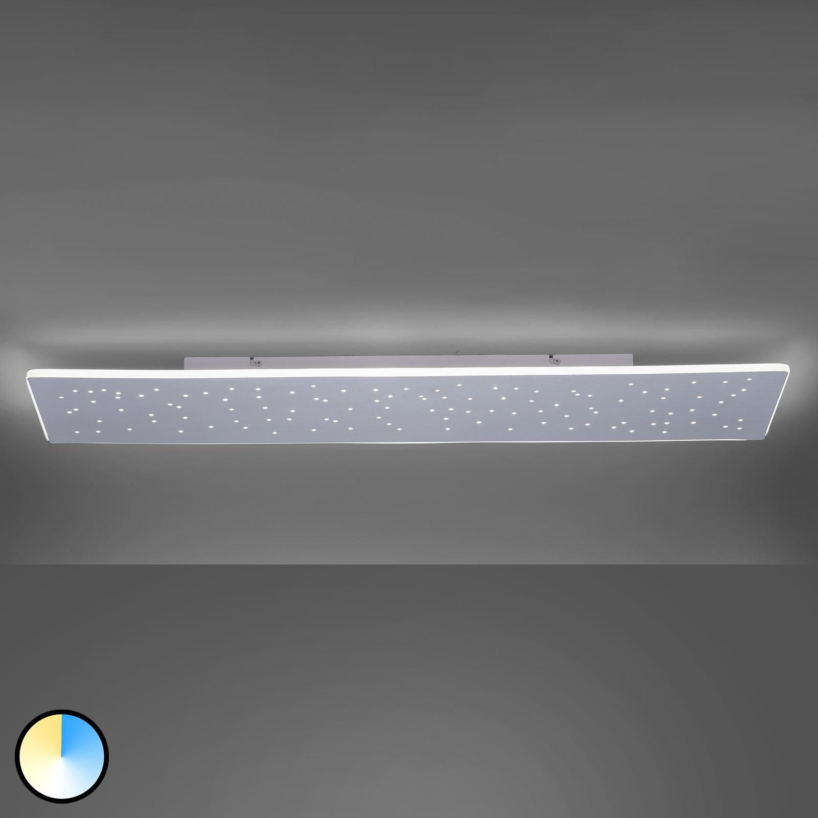 Paul Neuhaus Q-NIGHTSKY, plafonnier LED 100x25cm