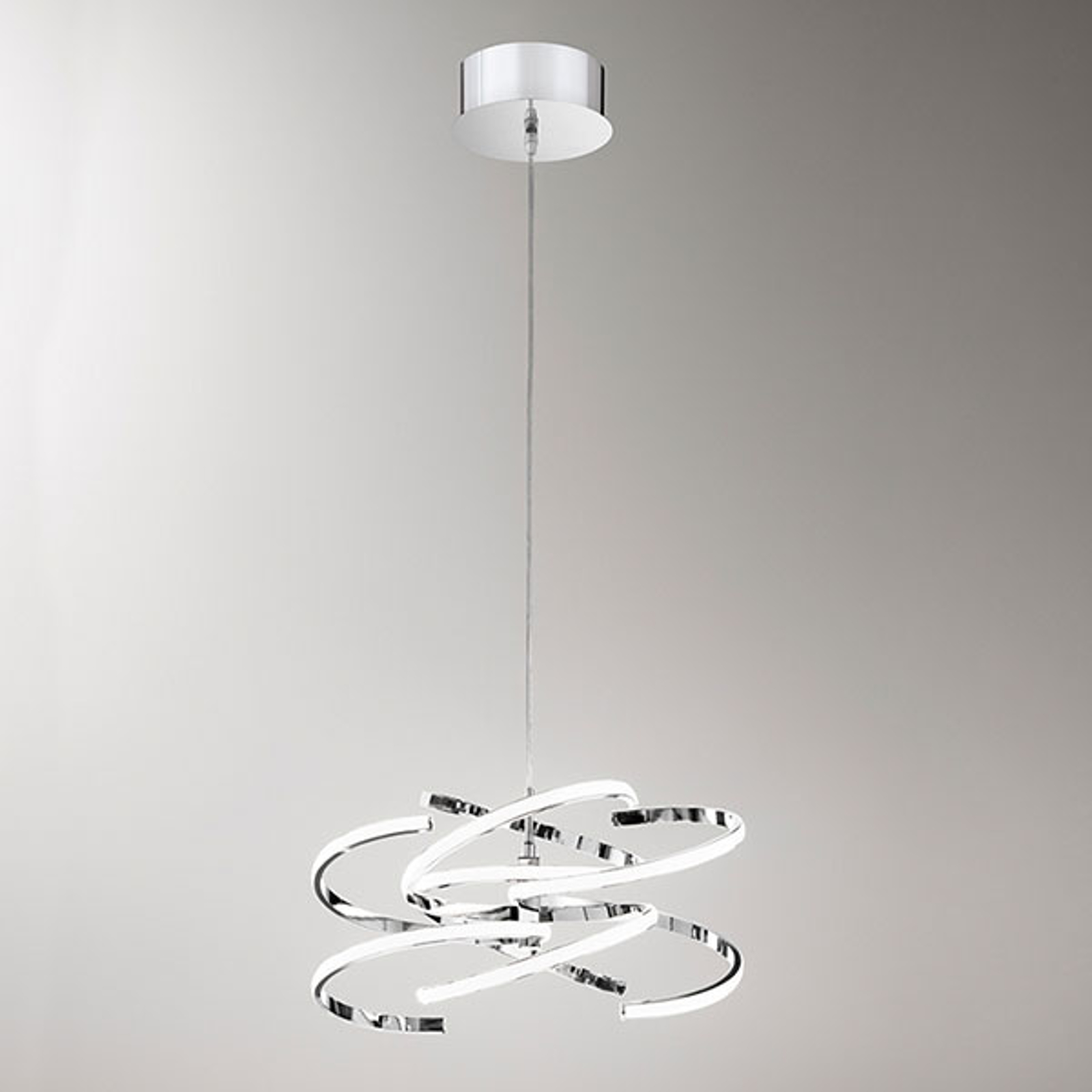 Suspension LED 6396 chromée