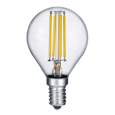 Žárovka LED E14 4W vláknová, 2.700K stmívač