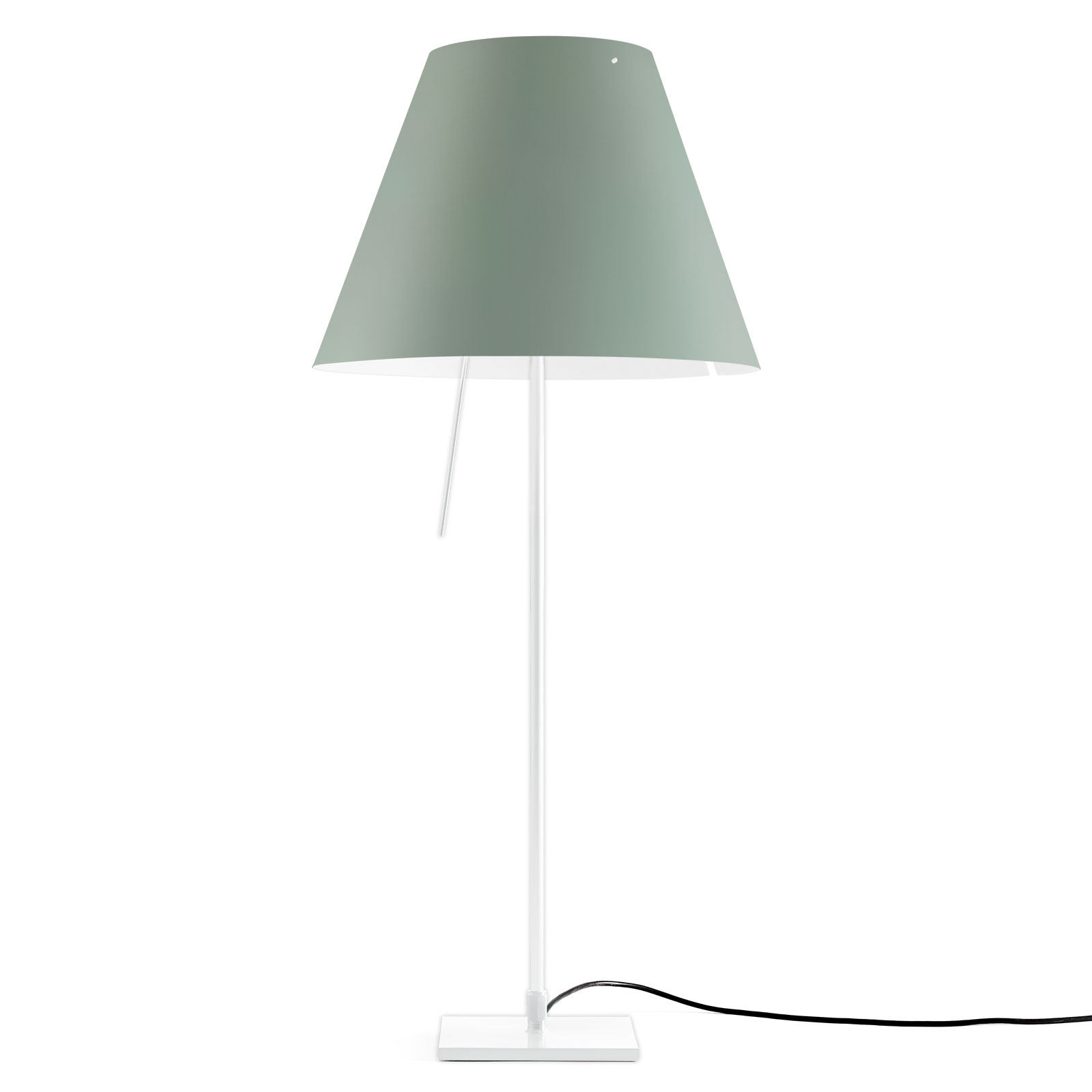 Luceplan Costanza tafellamp D13if wit/groen