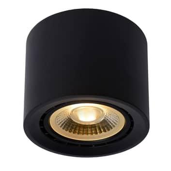 LED-taklampe Fedler dim to warm, svart