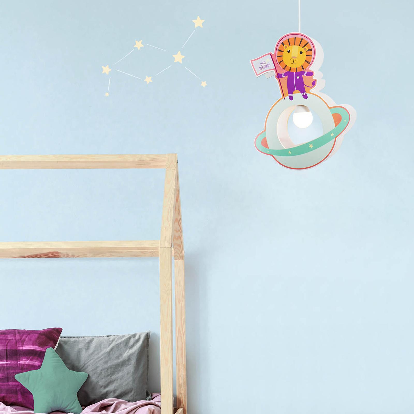 Lampa wisząca dziecięca Little Astronauts Lew