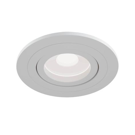 Reflektor wpuszczany Atom GU10 biały, okrągła rama
