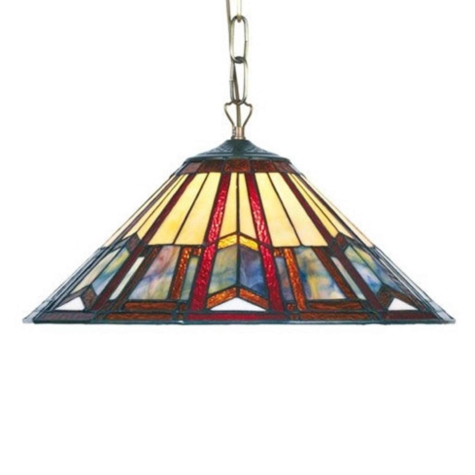 Lampa wisząca LILLIE w stylu Tiffany 1 x E27