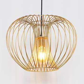 Lámpara colgante Protetto, oro, Ø 42 cm