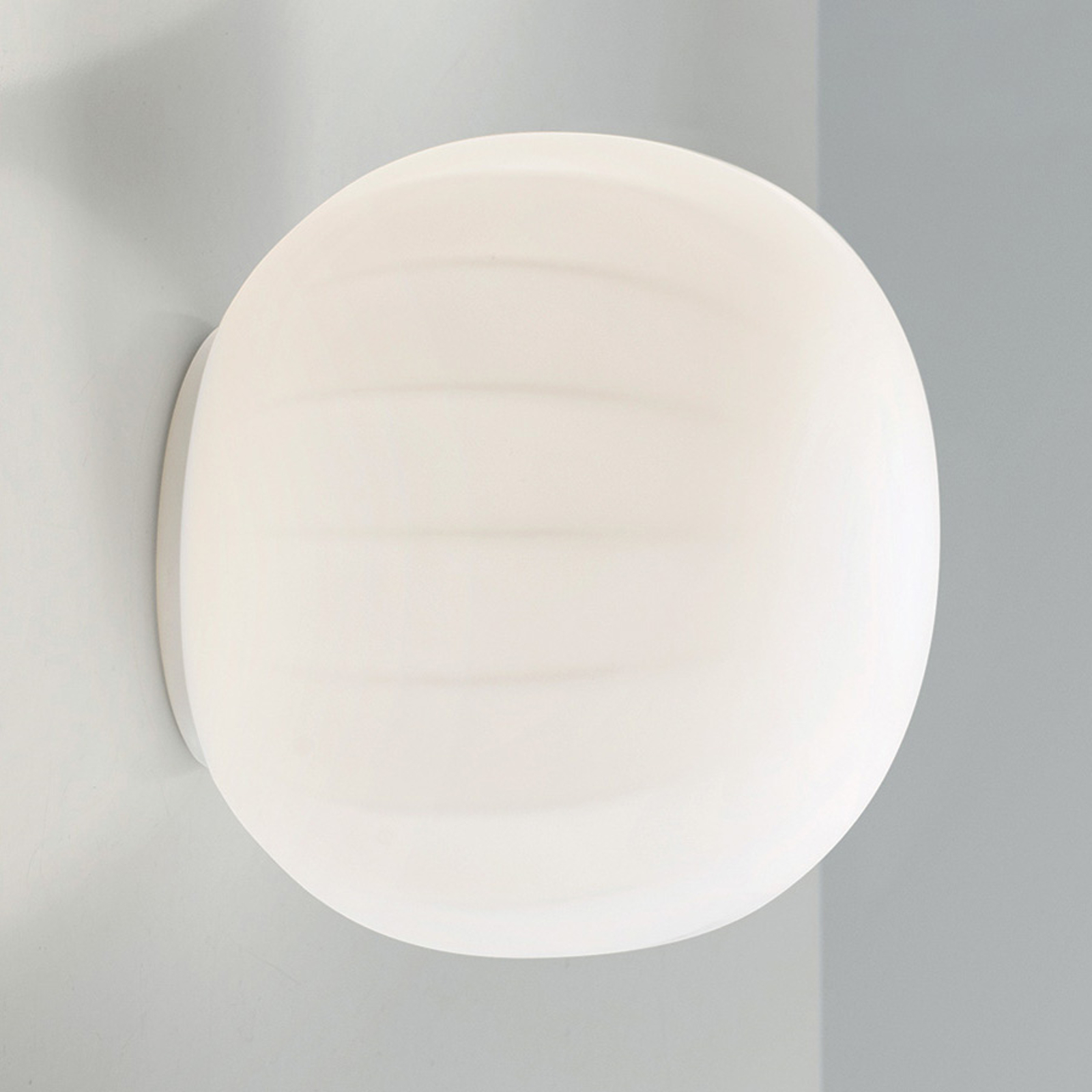 Luceplan Mesh wandlamp Ø 18 cm