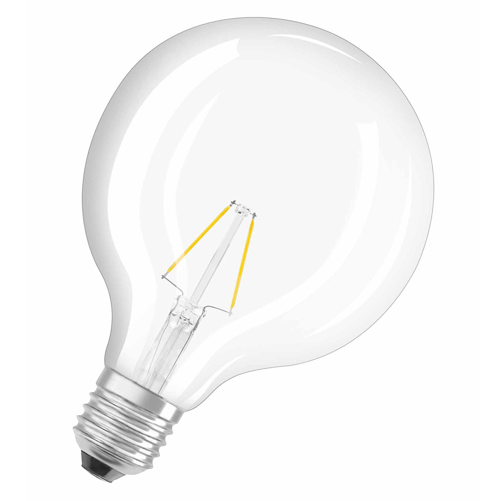 E27 2,8W 827 LED bollamp, Retrofit