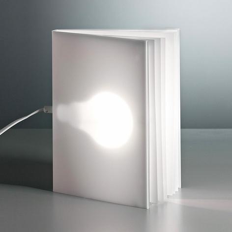 TECNOLUMEN BookLight - lampada da tavolo di Warnke