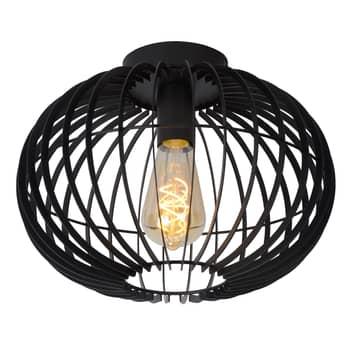 Plafondlamp Reda zwart Ø 32 cm