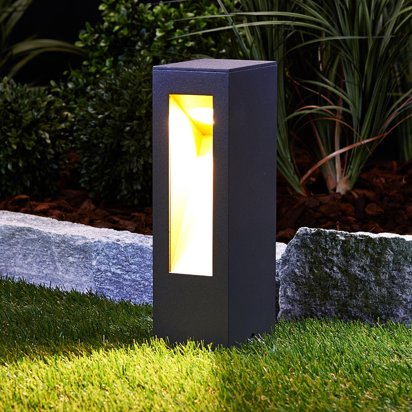 Lampione a LED Jenke di alluminio
