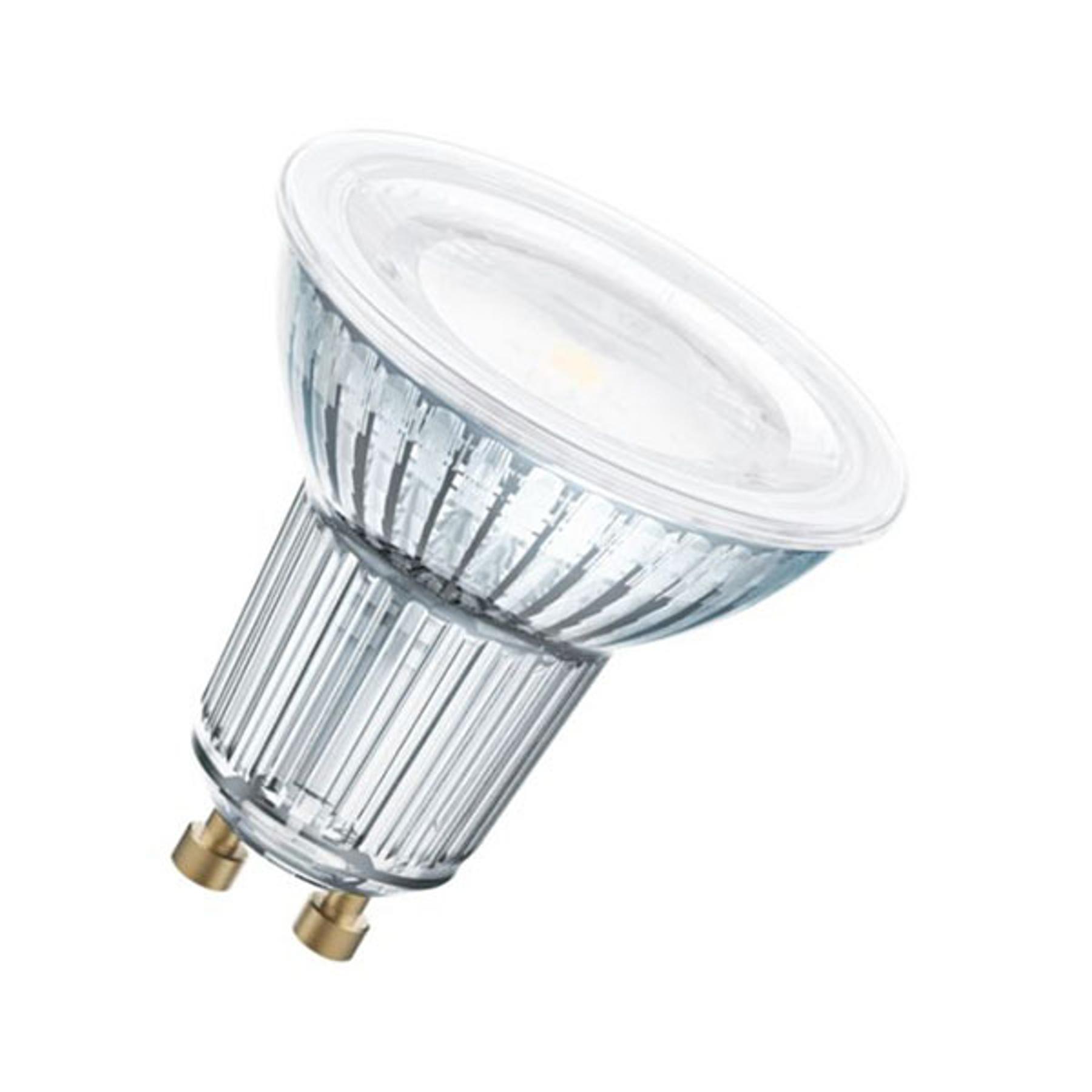 OSRAM LED riflettore GU10 6,9W bianco caldo 120°