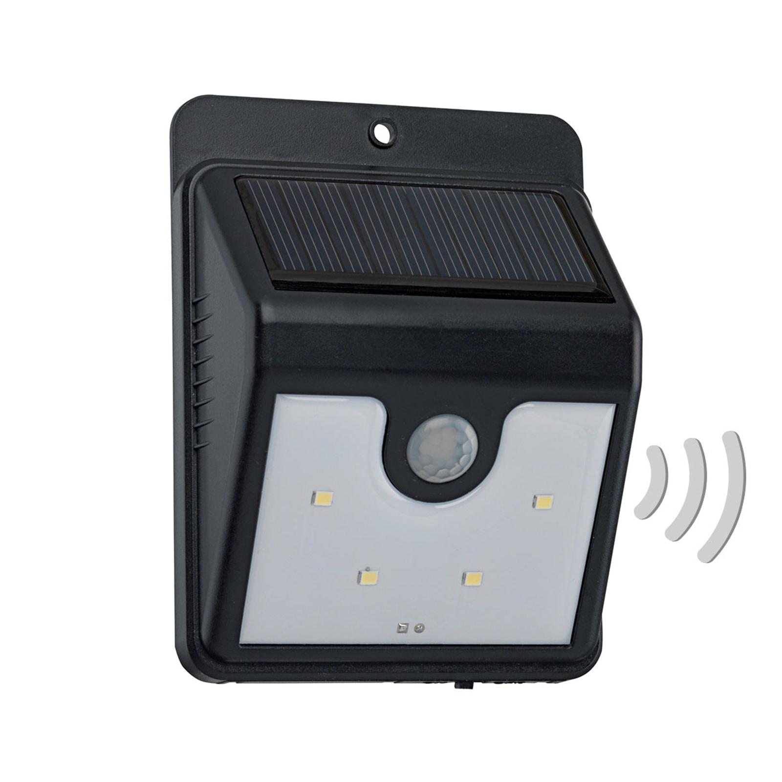 Solar-LED-Außenwandleuchte Argon mit Sensor