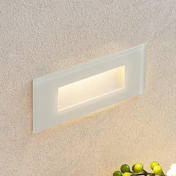 Aplique LED empotrado Jody, 19 cm