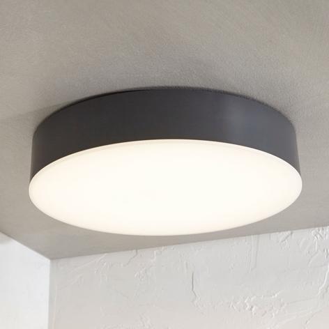 LED-ulkokattovalaisin Lyam, IP65, tummanharmaa