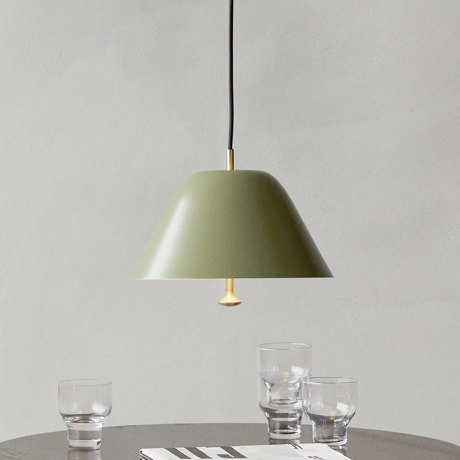Menu Levitate hanglamp Ø 40 cm saliegroen