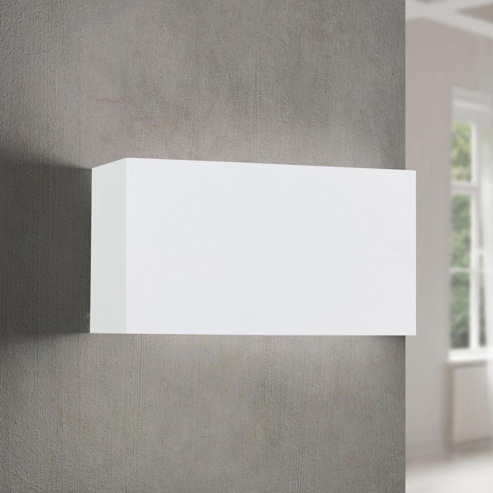 LED wandlamp Hamilton, wit