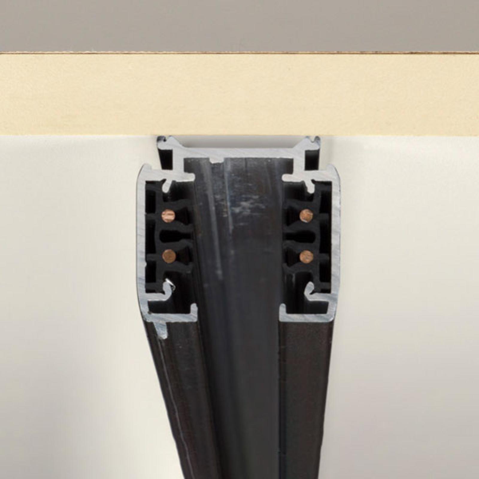 SLV Schiene S-Track 3-Phasen, schwarz, 1m
