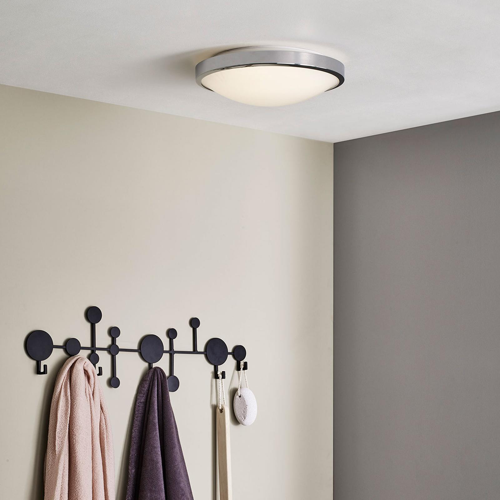 Klassieke plafondlamp DENIA in chroom-uitvoering