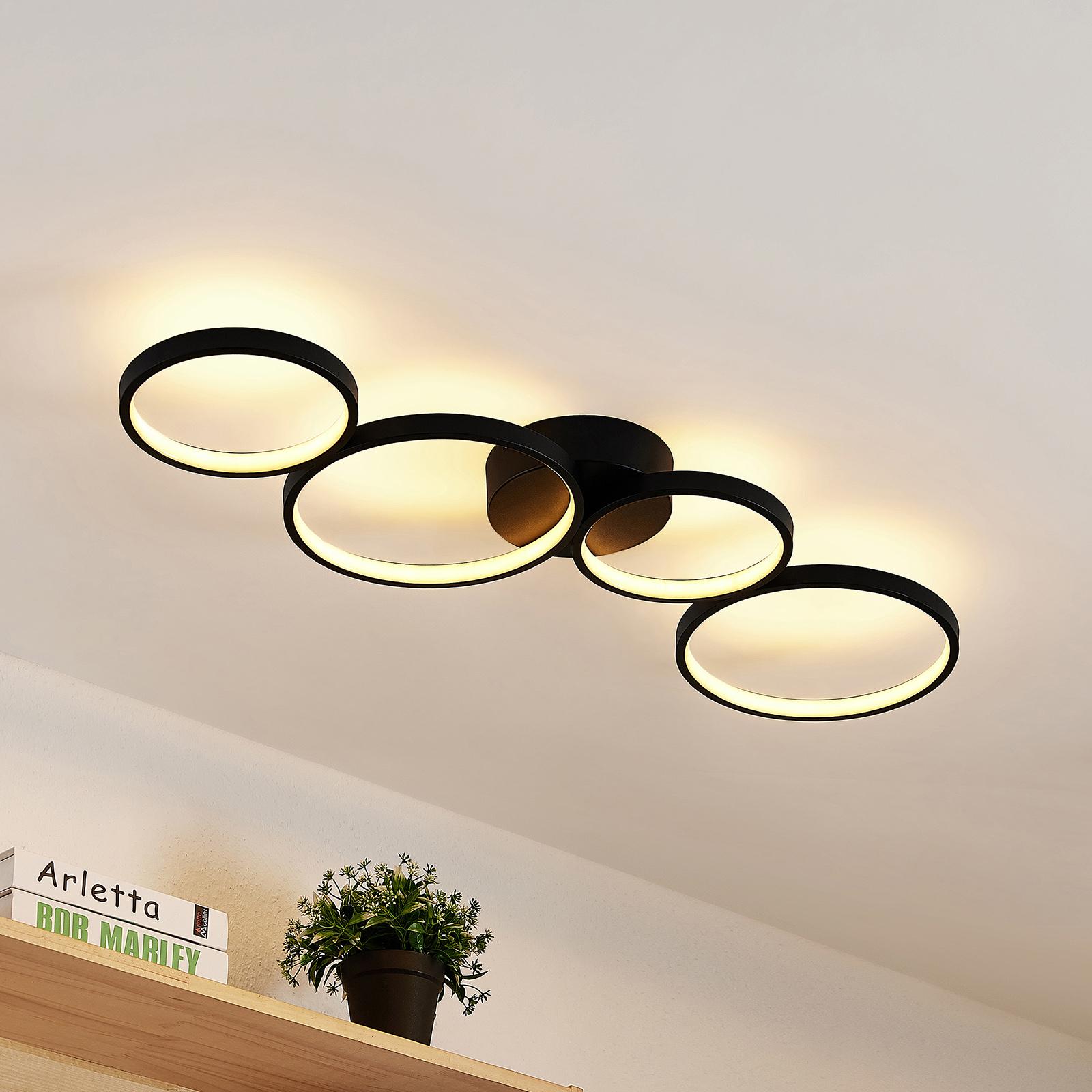 Lindby Evengeline -LED-kattovalaisin