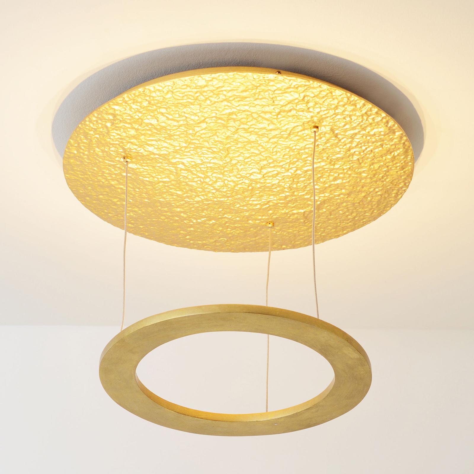 LED-taklampe Venere, gull