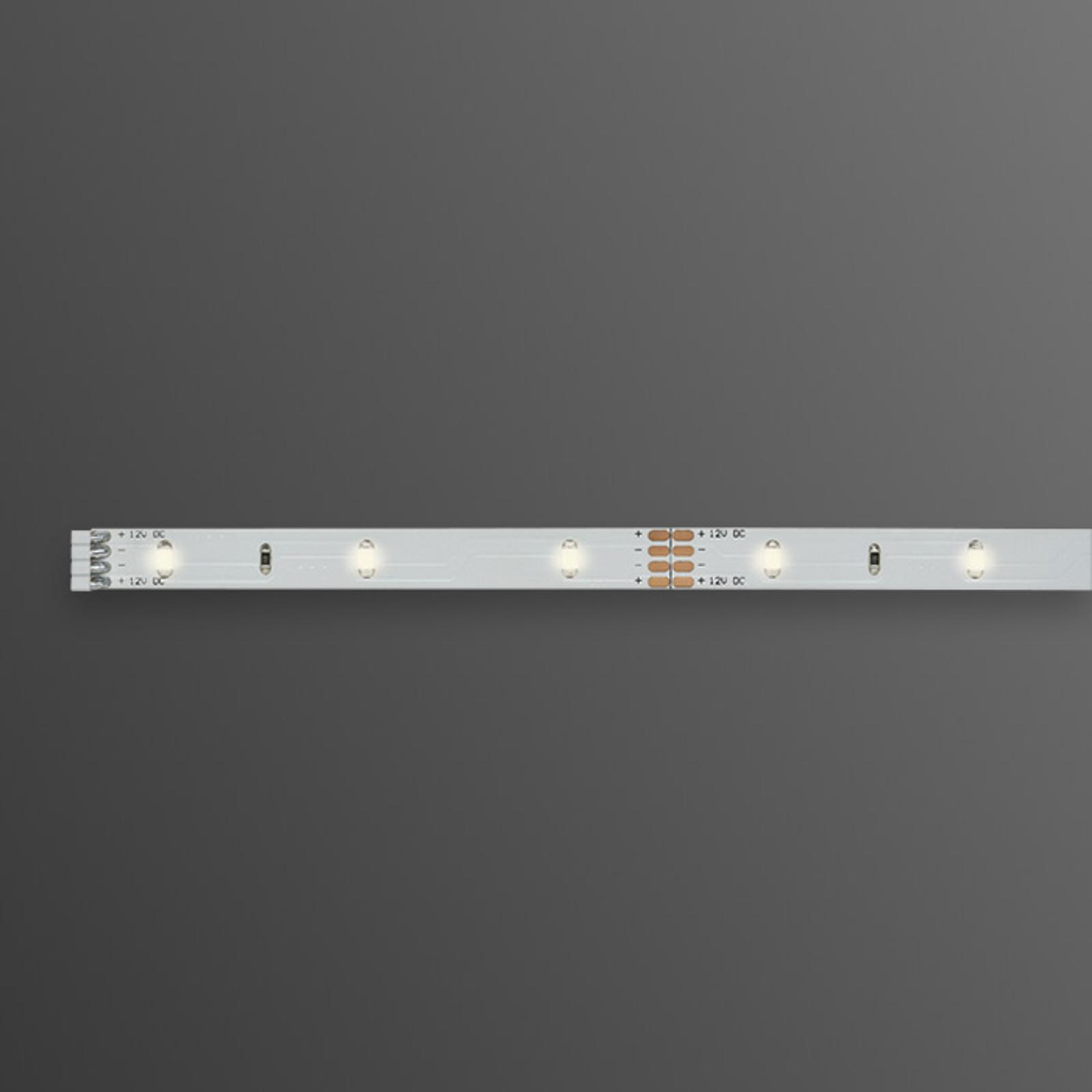 Bande LED blanc chaud YourLED, 1 m, blanc