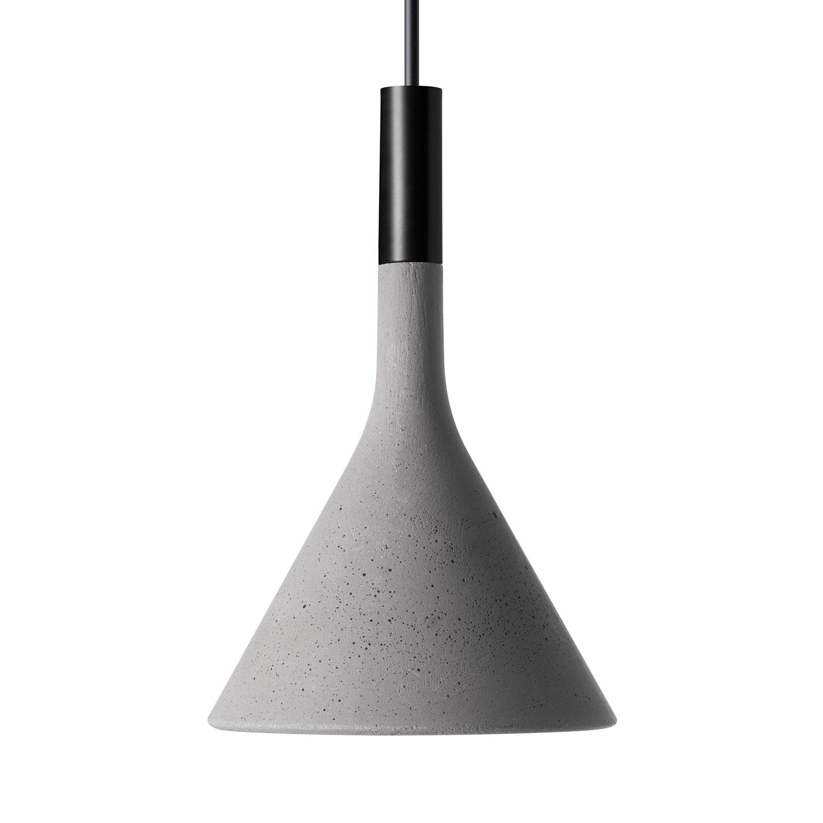 Foscarini Aplomb Mini hanglamp van beton, grijs