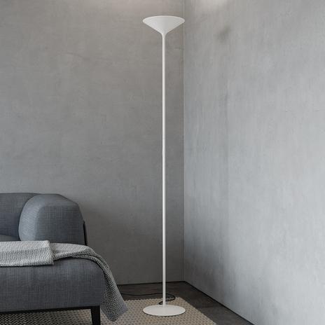 Rotaliana Dry lampa stojąca LED, biała matowa