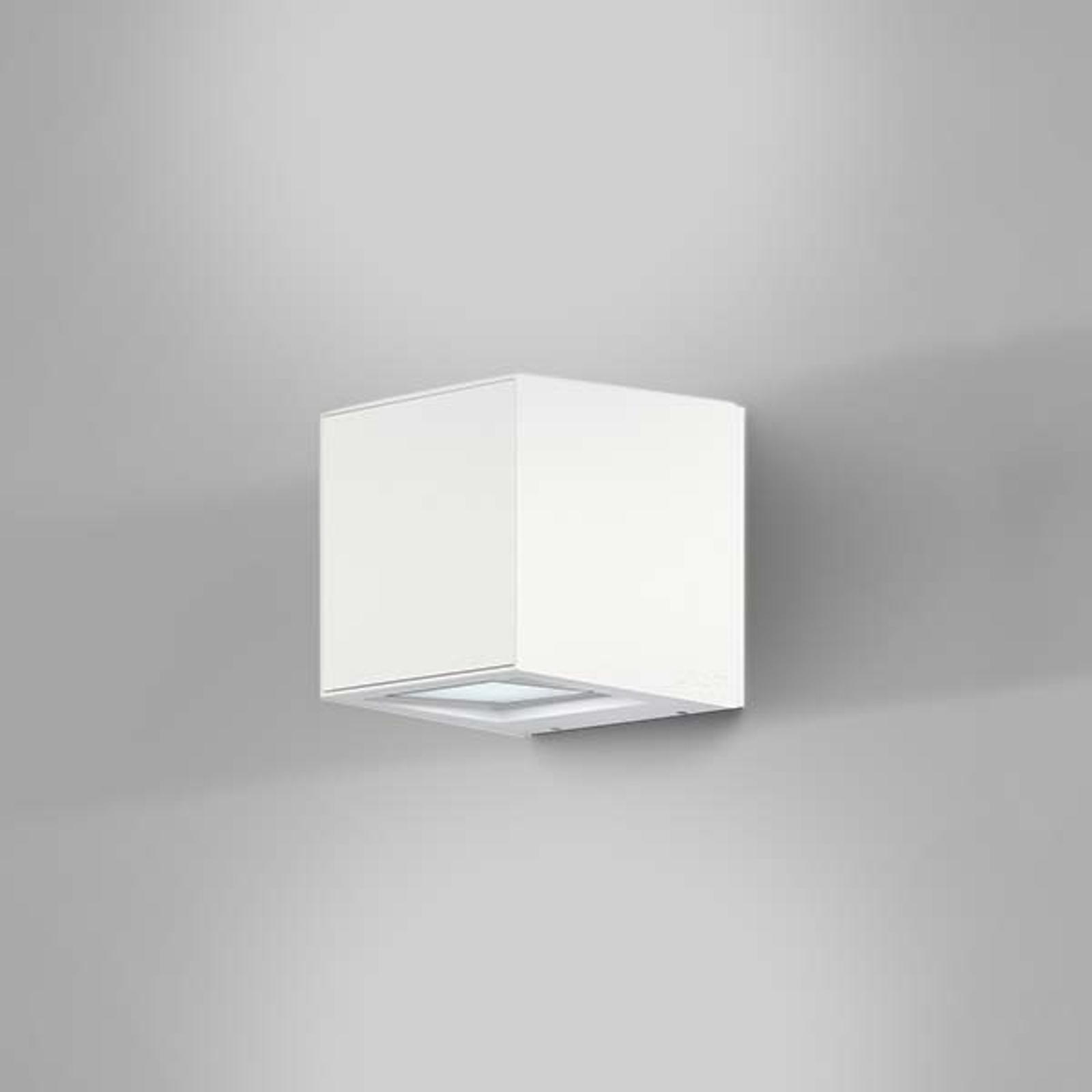 IP44.de Gap Q - LED buitenwandlamp, wit