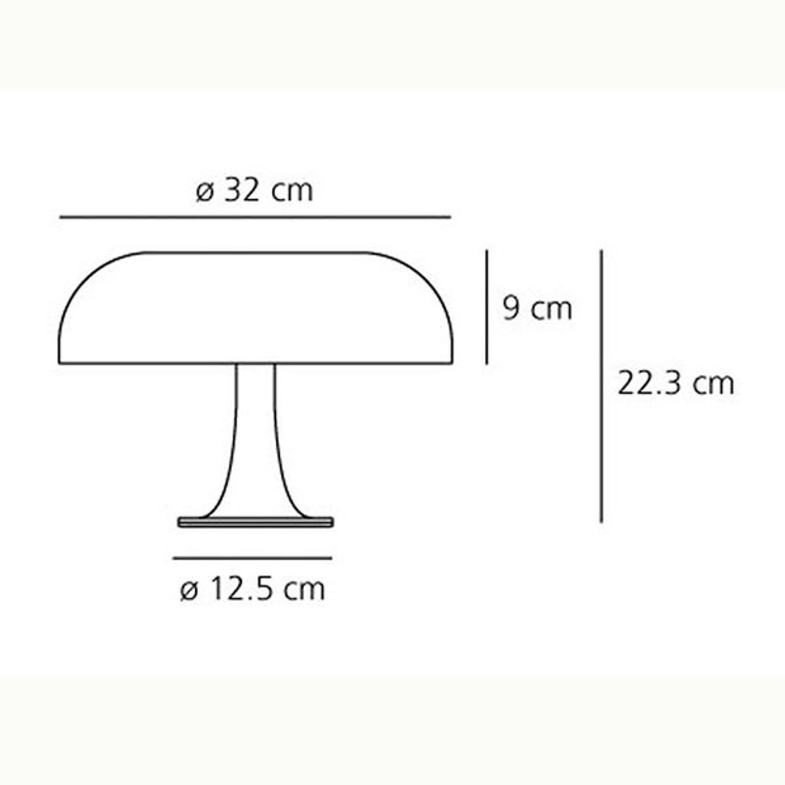 Artemide Nessino - Design tafellamp, oranje