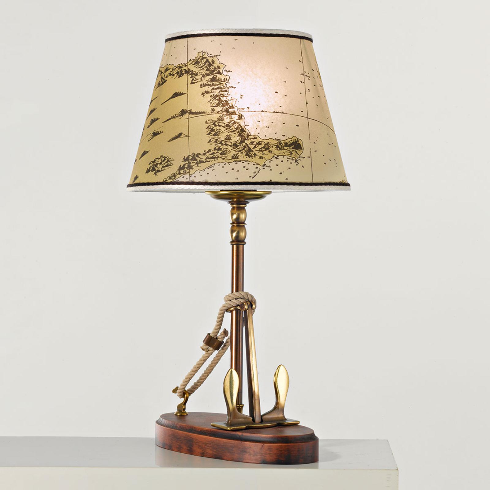 Stilfuld Nautica bordlampe