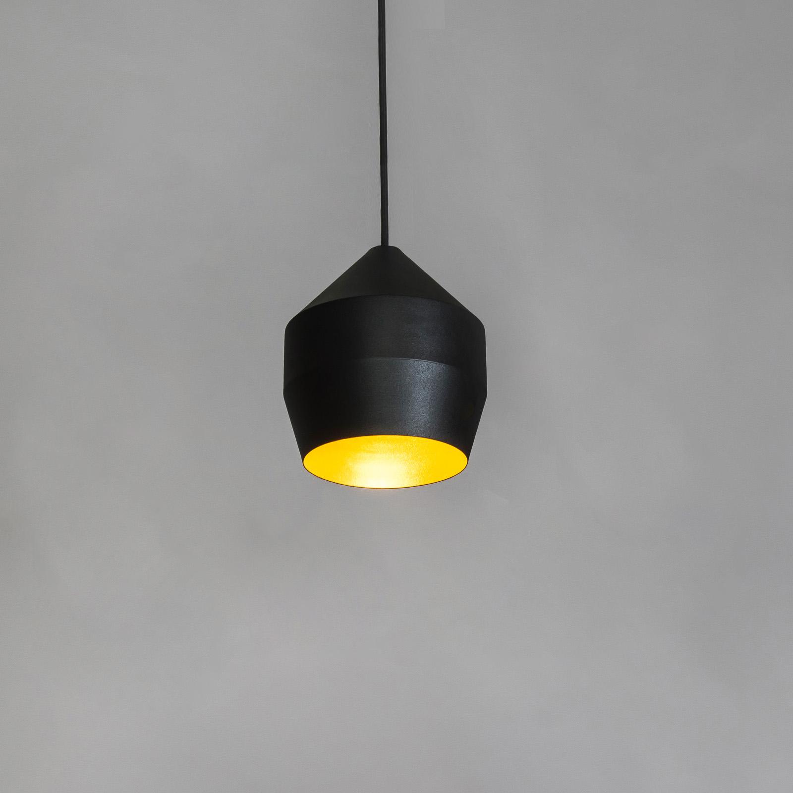 Innermost Hoxton 17 Hängeleuchte, schwarz/gold