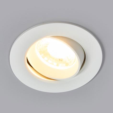 Biały reflektor wpuszczany LED Quentin, 9W