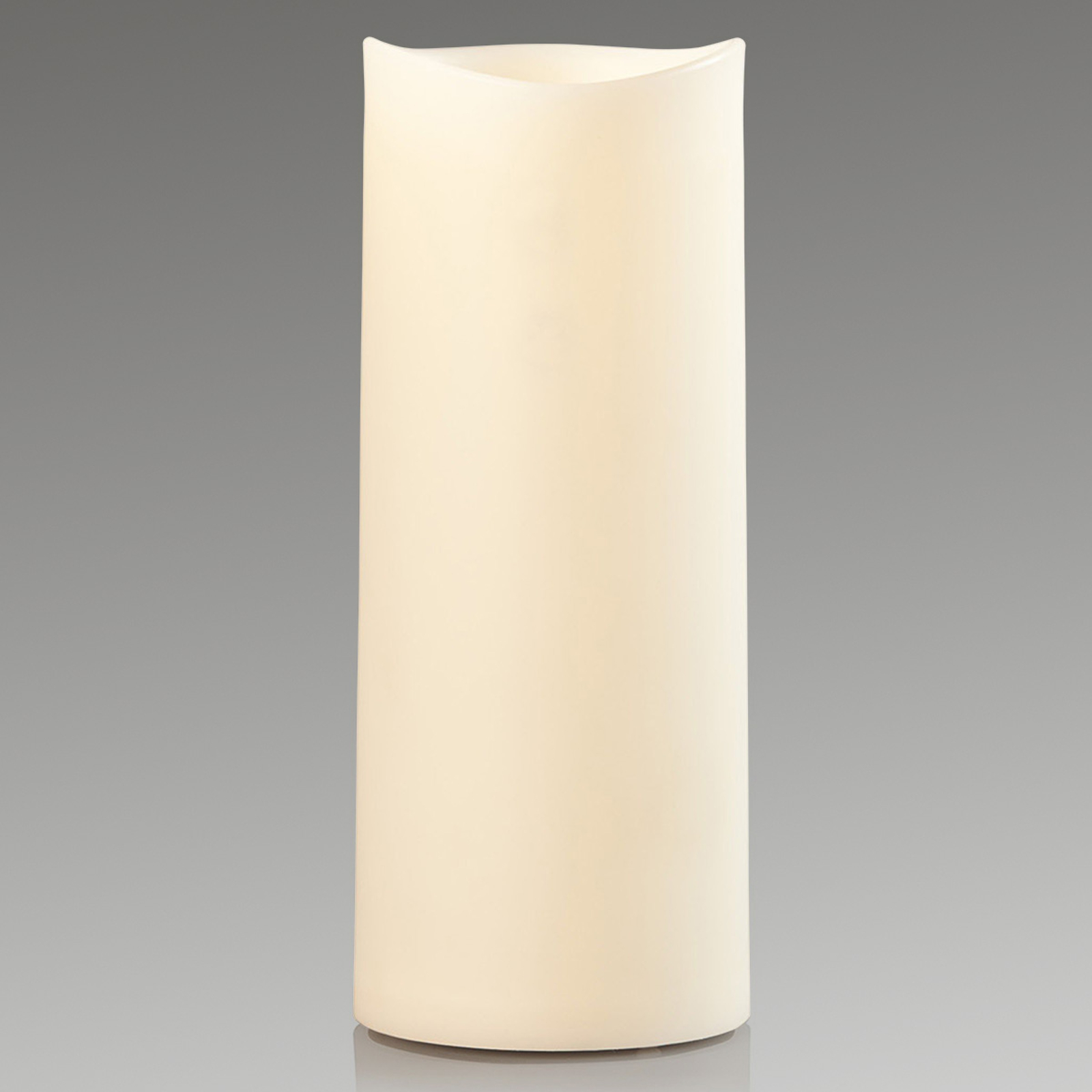 LED-dekorlys Outfdoor Candle, 22cm