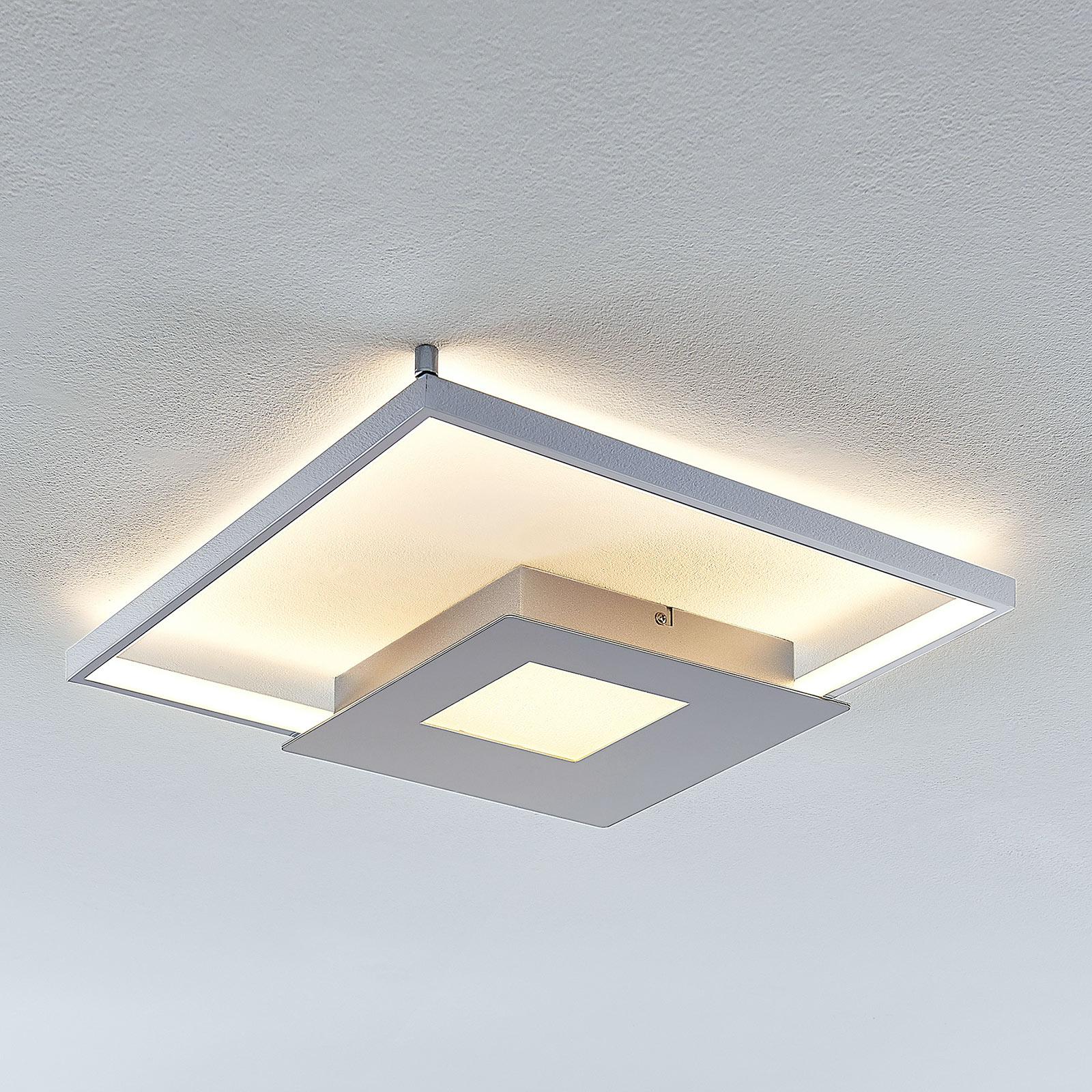 LED-taklampe Anays, kantet 42 cm