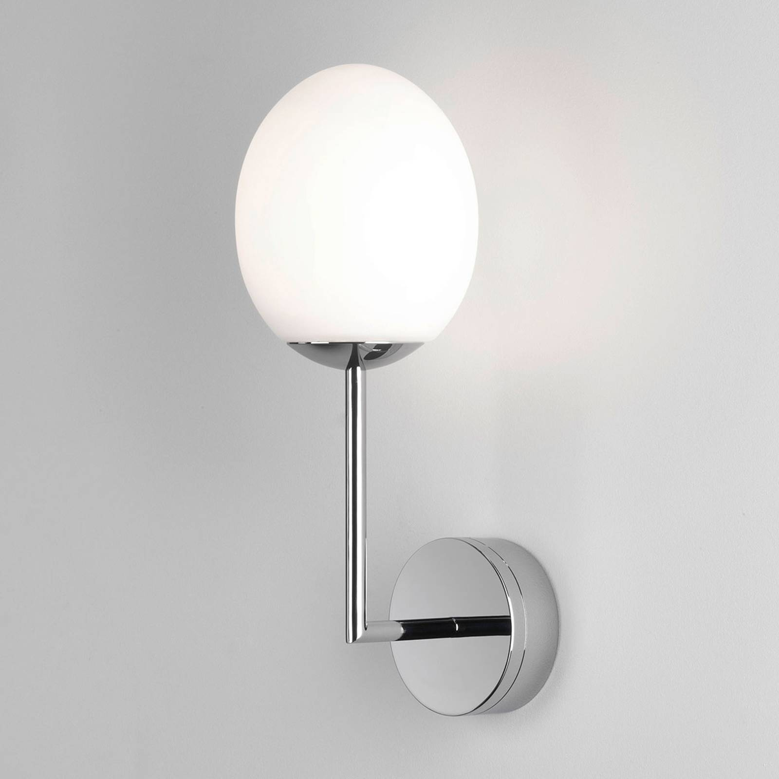 Astro Kiwi LED-Wandleuchte fürs Bad, chrom