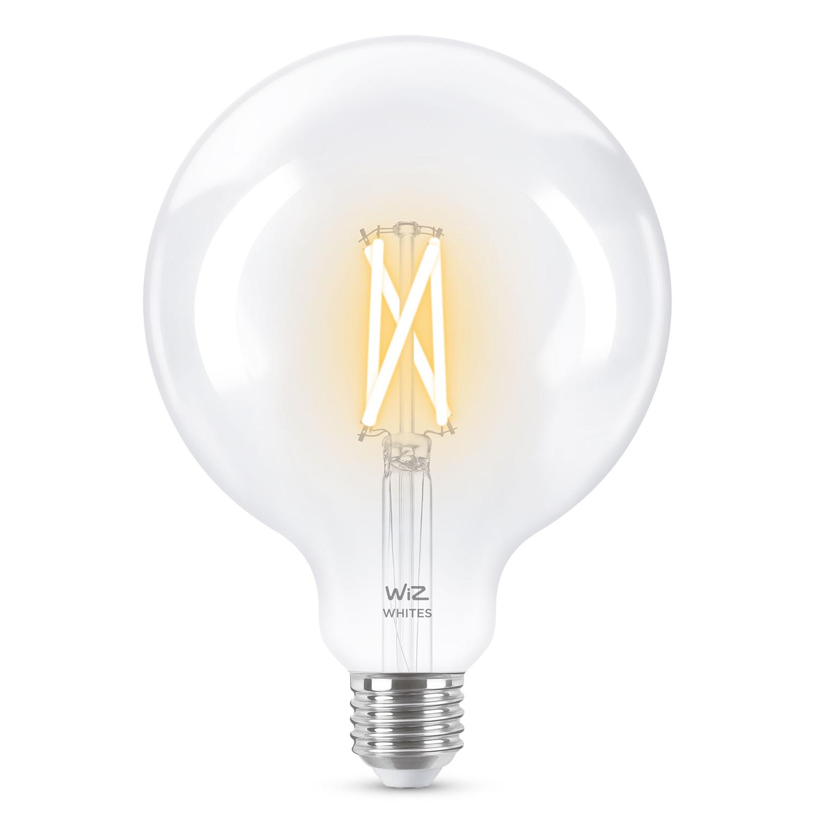 WiZ E27 LED G125 Filament klar 6,5W 2.200-5.500K