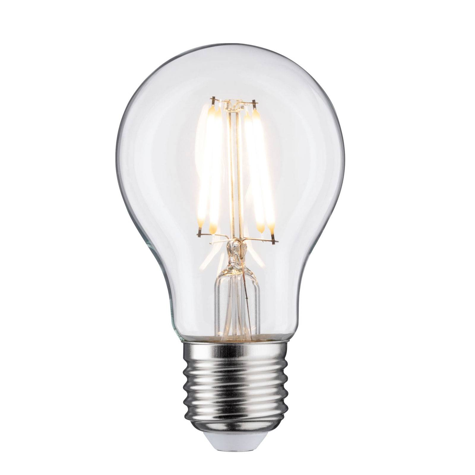 LED E27 5W filamenti 2.700K trasparente dimming