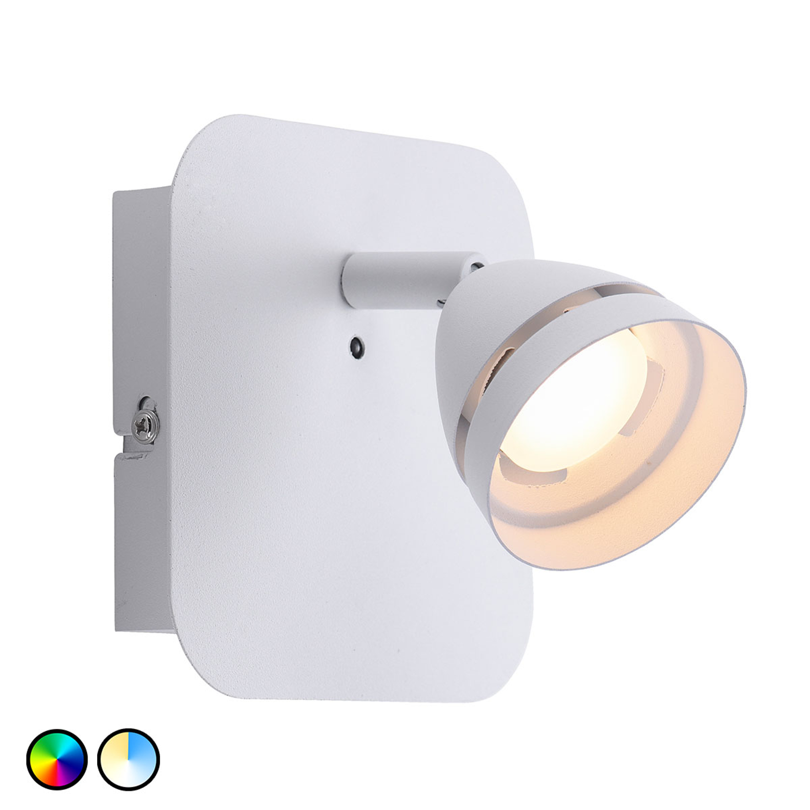 Trio WiZ Gemini applique LED blanche