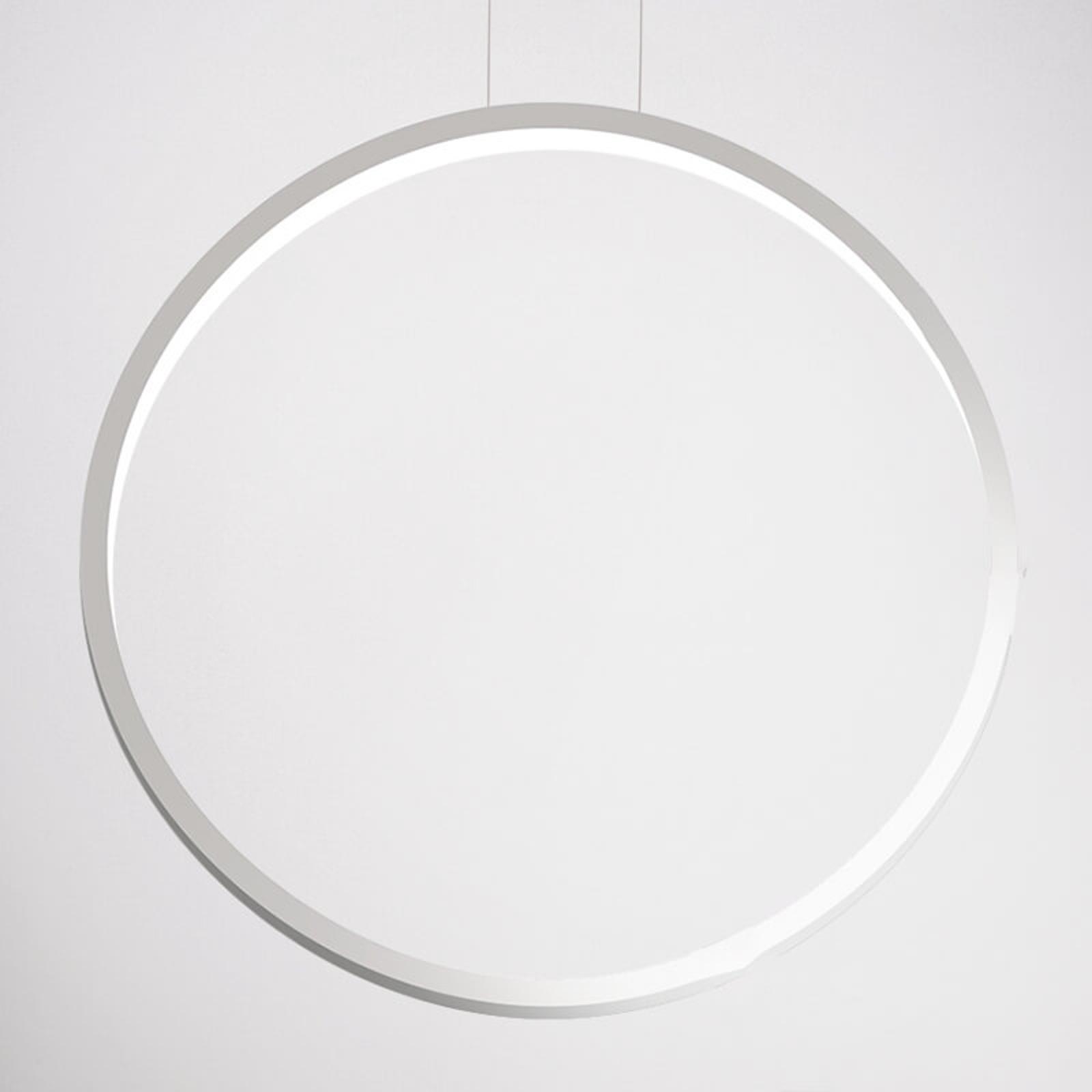 Cini&Nils Assolo - weiße LED-Hängeleuchte, 70 cm