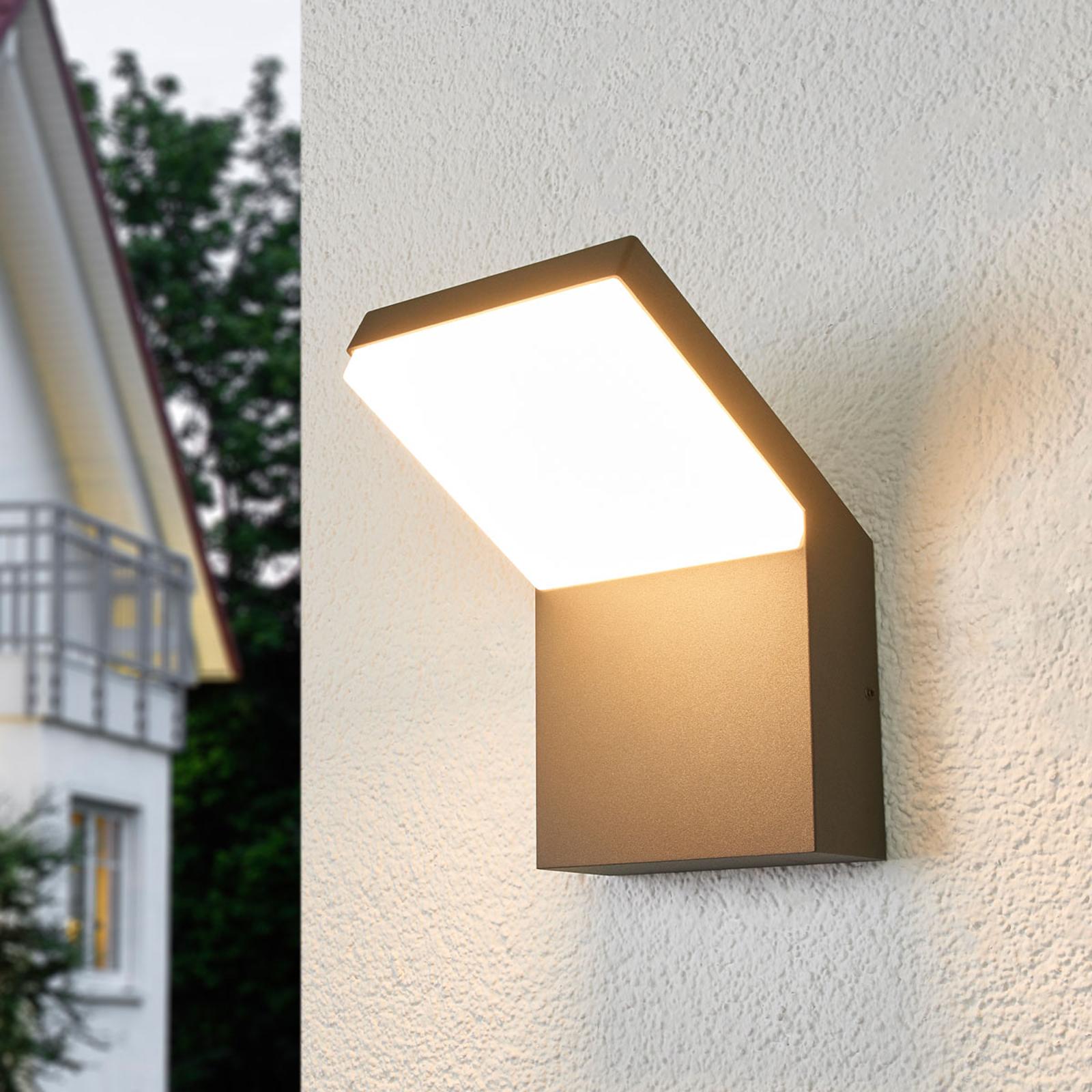 Applique LED da esterni Yolena, emissione in basso