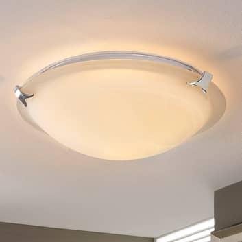Rund LED-taklampe Genoveva