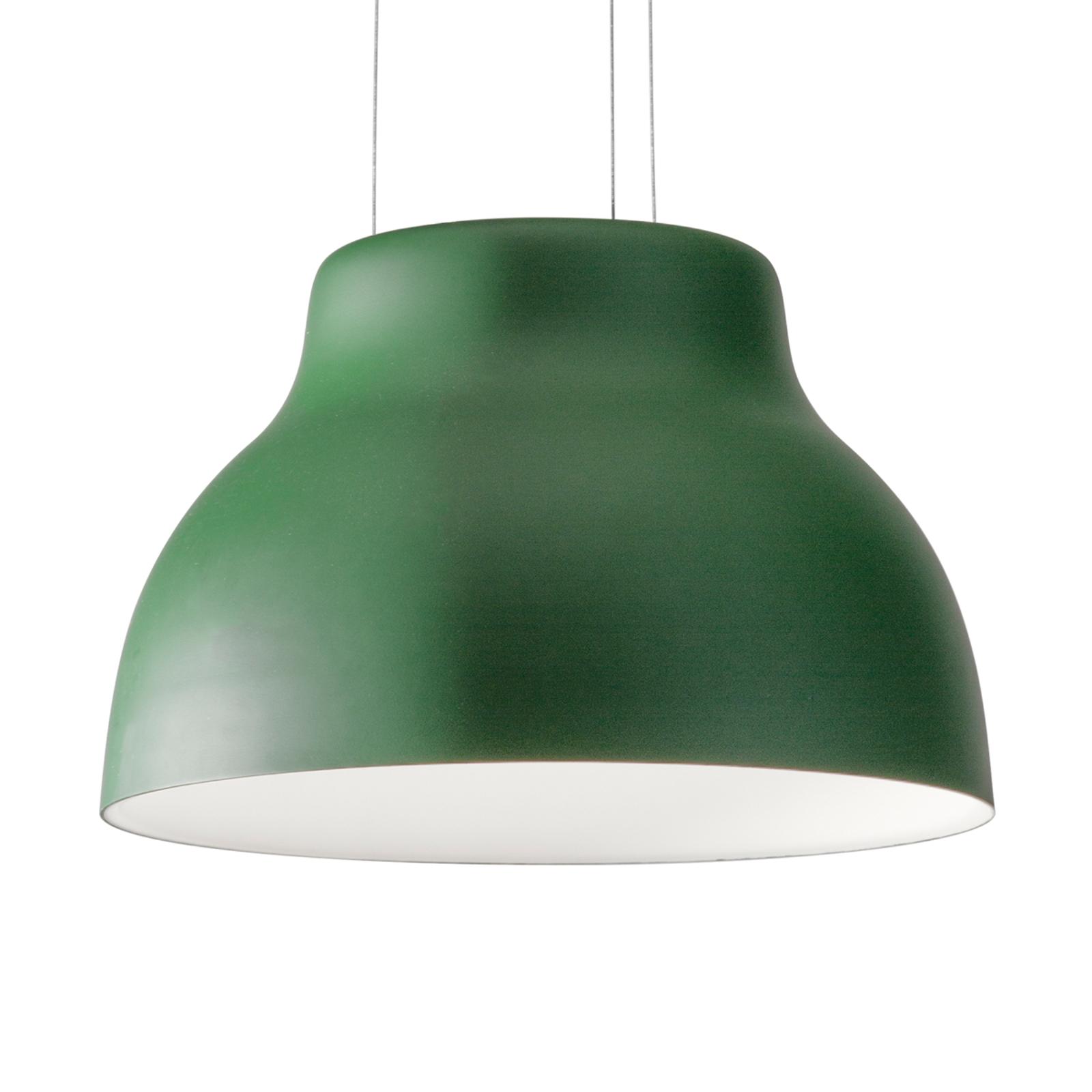 Martinelli Luce Cicala - LED-Pendelleuchte, grün