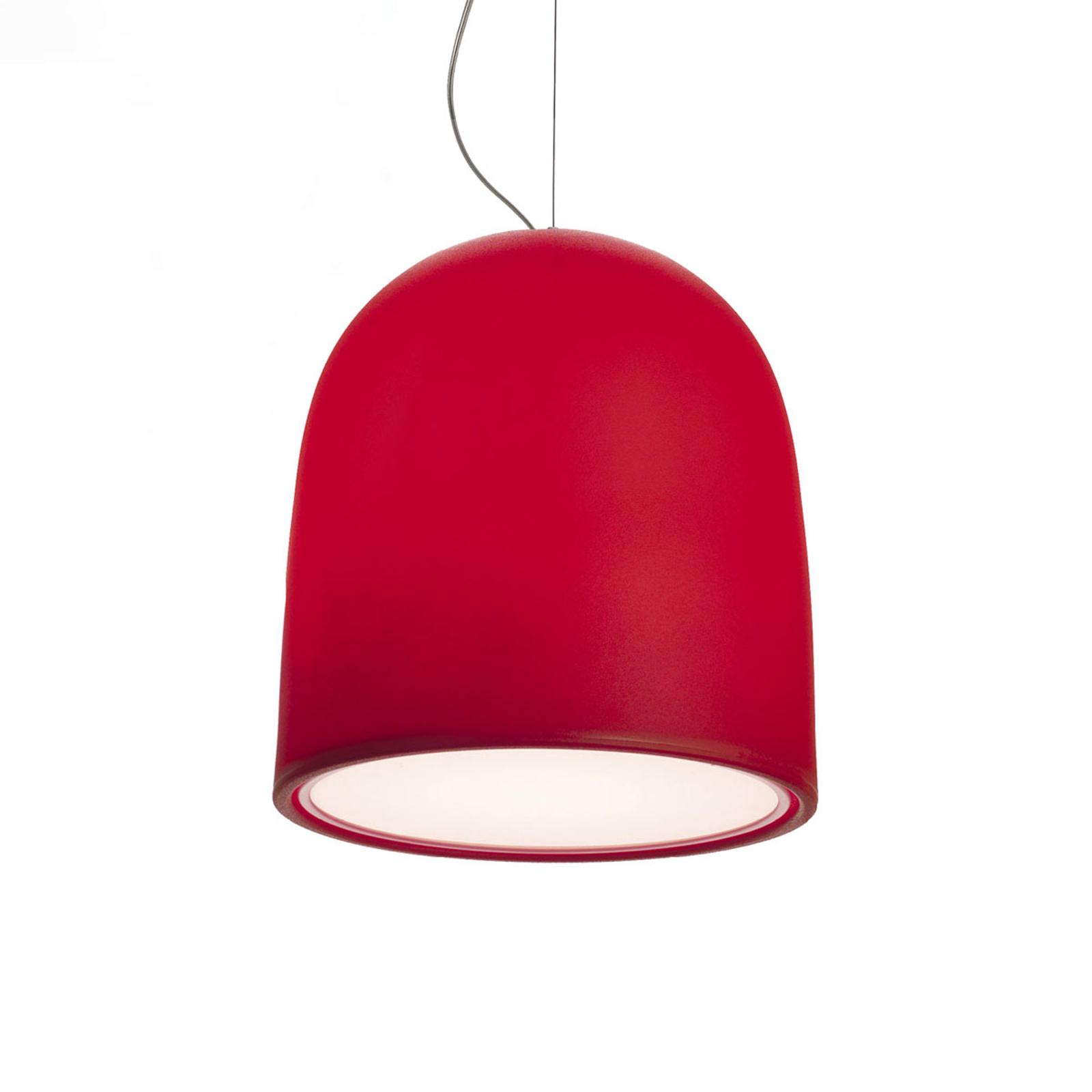 Modo Luce Campanone hanglamp Ø 33 cm rood