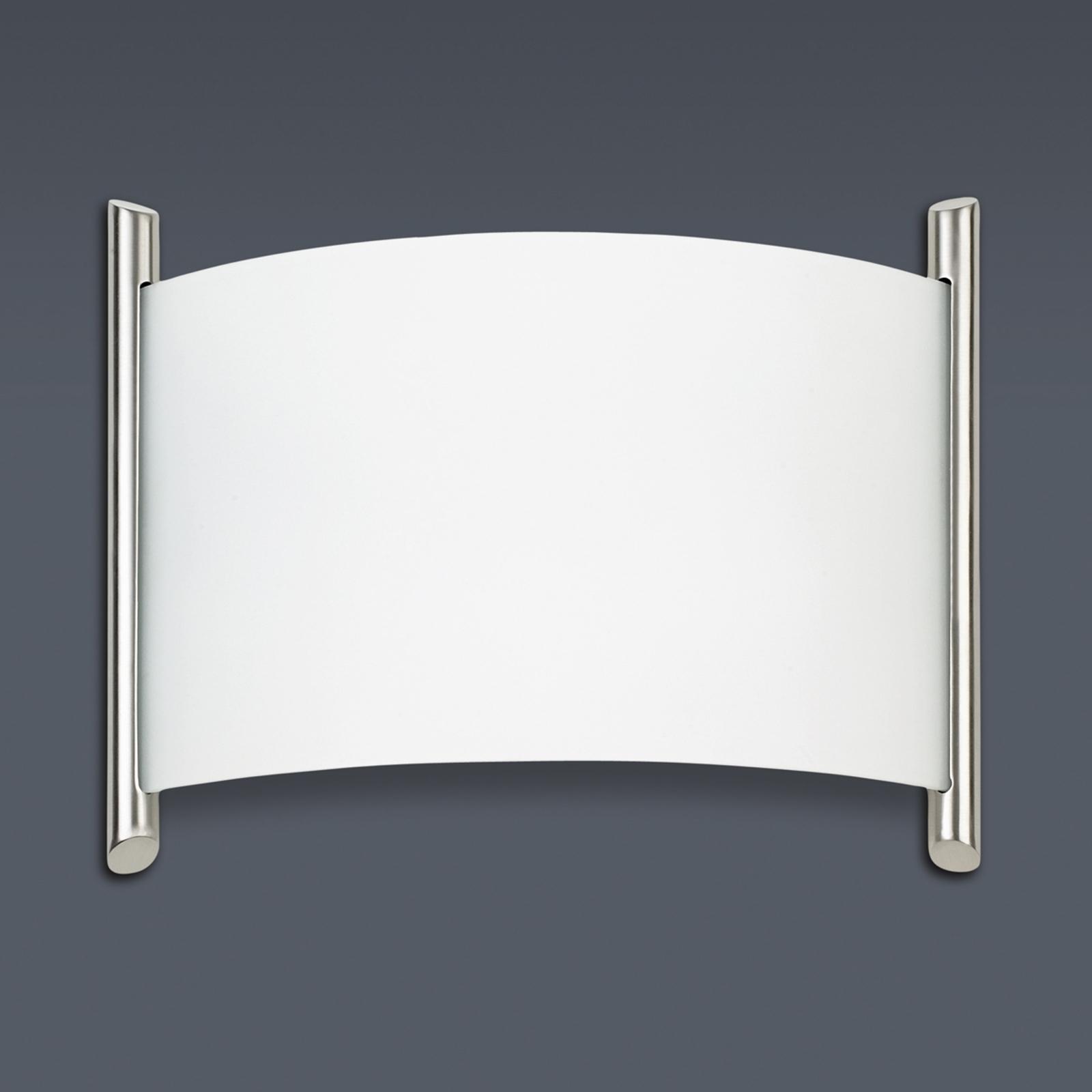 Wandlamp NIZA met gesatineerd glas
