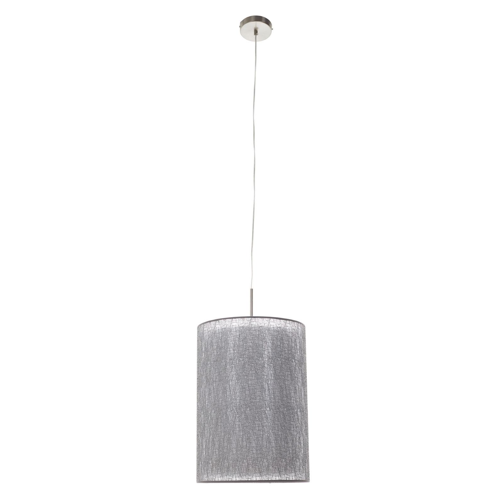 Lámpara colgante Gaas con pantalla textil
