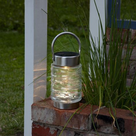 Lámpara LED solar Capri para colocación o colgar