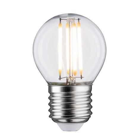 LED lamp E27 5W Druppel 2.700K helder