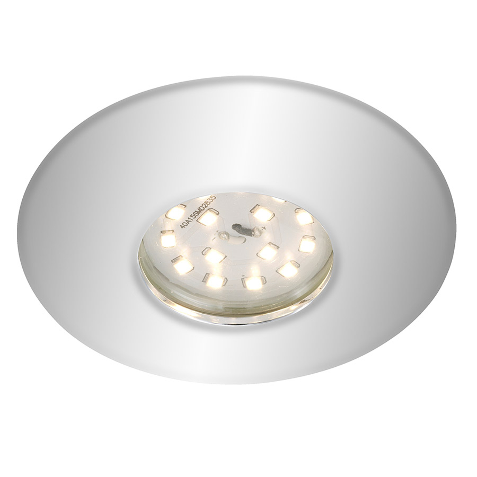 Spot encastré LED chromé Shower, IP65